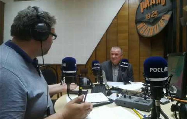 Embedded thumbnail for Директор ИДН Николай Карика в прямом эфире Радио России Иваново
